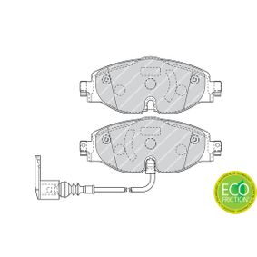 Scheibenbremse FERODO FDB4433 PREMIER ECO FRICTION AUDI SEAT 4 Bremsbelagsatz