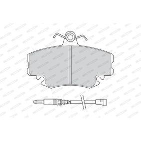 FDB845B Bremsbelagsatz, Scheibenbremse FERODO in Original Qualität