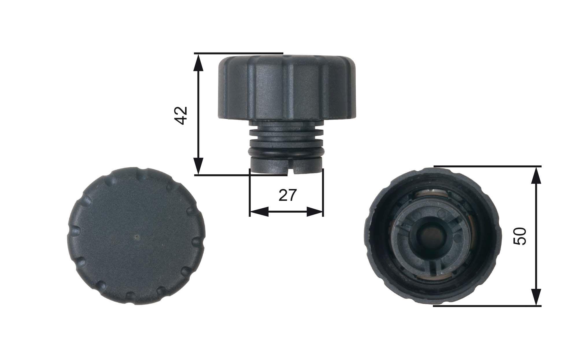 741030090 GATES Verschlussdeckel, Kühlmittelbehälter RC244 günstig kaufen