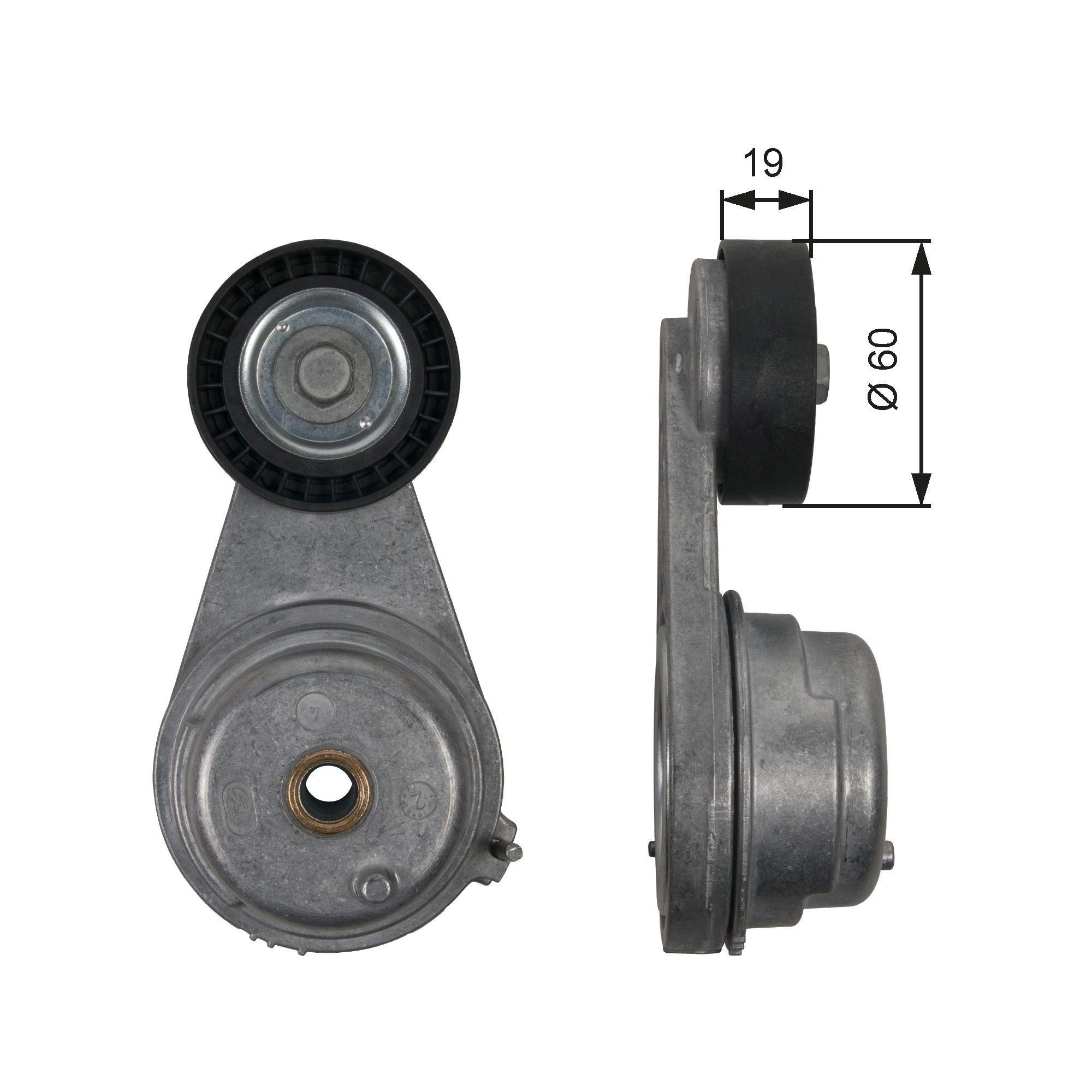 780821590 GATES PowerGrip® Spannrolle, Keilrippenriemen T39190 günstig kaufen