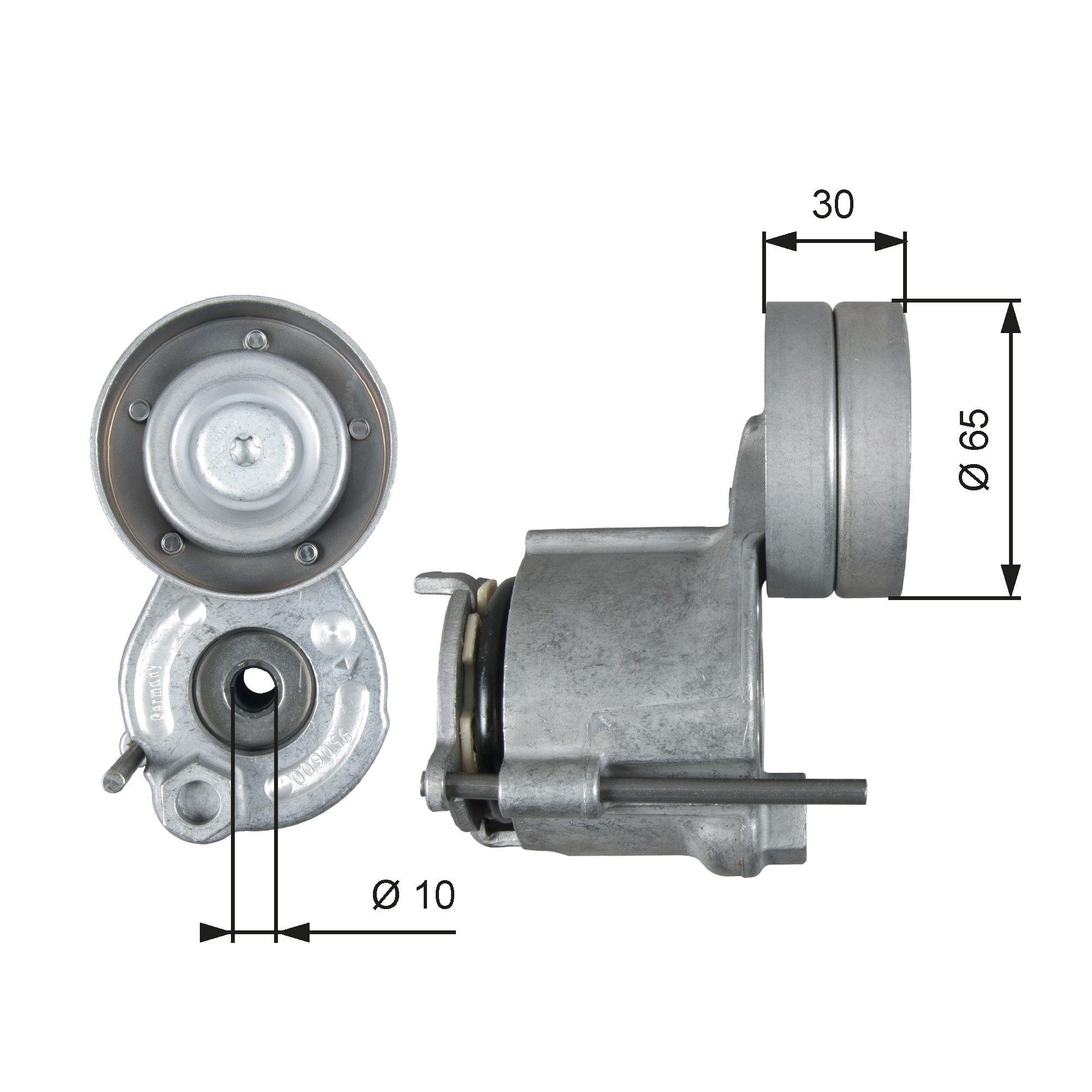 780821667 GATES PowerGrip® Spannrolle, Keilrippenriemen T39267 günstig kaufen