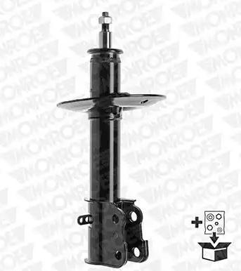 71592 MONROE Gasdruck, Zweirohr, Federbein, oben Stift, unten Schelle Stoßdämpfer 71592 günstig kaufen