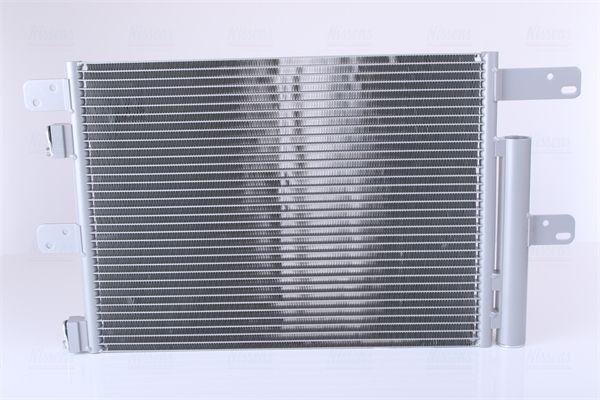 NISSENS Kondensor, klimatanläggning till GINAF - artikelnummer: 940096