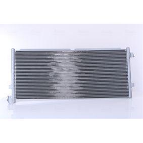 NISSENS Kondensor, klimatanläggning 94582 - köp med 19% rabatt