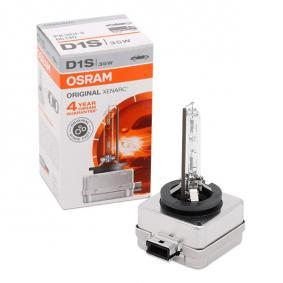 Купете D1S OSRAM XENARC ORIGINAL 35ват, D1S (газоразрядна лампа), 85волт Крушка с нагреваема жичка, фар за дълги светлини 66140 евтино