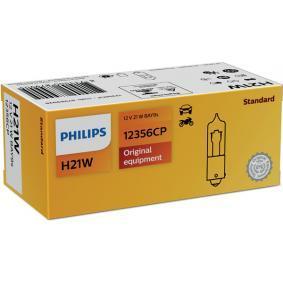 12356CP Ampoule, feu clignotant PHILIPS - Produits de marque bon marché