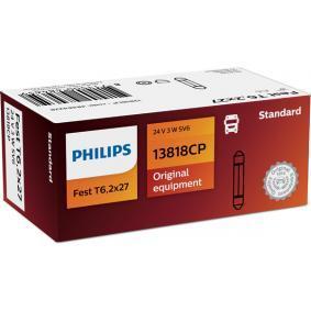 13818CP Glühlampe, Kennzeichenleuchte PHILIPS - Markenprodukte billig