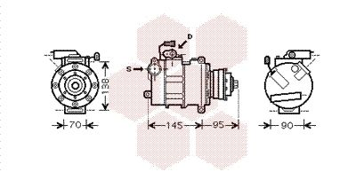 Kompressor VAN WEZEL 0300K267