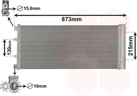 Original RENAULT Kondensator Klimaanlage 43005475