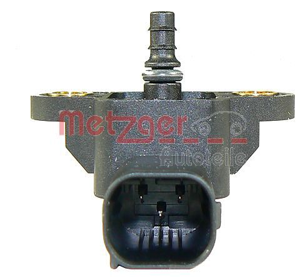 MERCEDES-BENZ CLC 2010 Saugrohrdrucksensor - Original METZGER 0906103 Pol-Anzahl: 3-polig