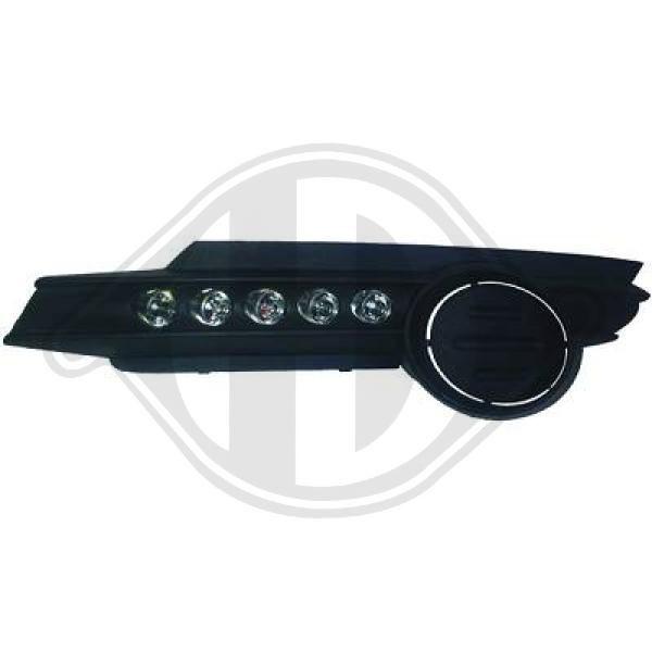Pirkti 1814388 DIEDERICHS HD Tuning su integruotomis grotelėmis Dienos metu naudojamų šviesų komplektas 1814388 nebrangu