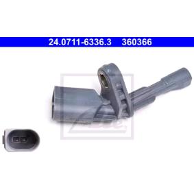 24071163363 Senzor, stevilo obratov kolesa ATE 24.0711-6336.3 - Ogromna izbira