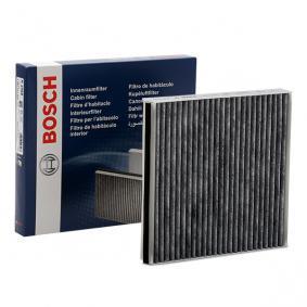 R2568 BOSCH Aktivkohlefilter Breite: 197mm, Höhe: 30mm, Länge: 192mm Filter, Innenraumluft 1 987 432 568 günstig kaufen