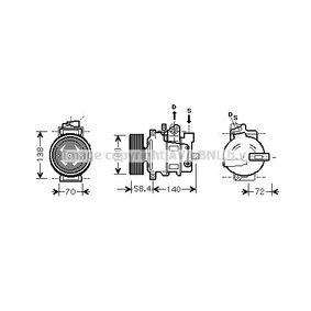 AIAK262 PRASCO Kältemittel: R 134a Riemenscheiben-Ø: 100mm Kompressor, Klimaanlage AIAK262 günstig kaufen