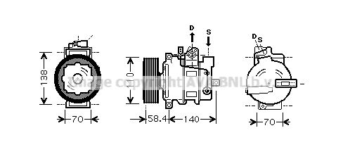 Kompressor PRASCO AIAK272