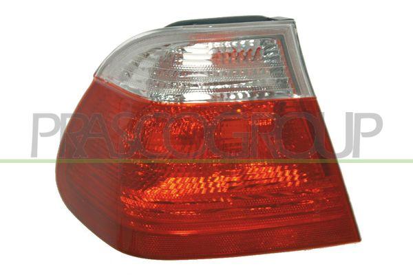 BM0184156 PRASCO links, äusserer Teil, ohne Lampenträger Farbe: weiß Heckleuchte BM0184156 günstig kaufen