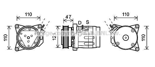 Kompressor PRASCO CTK036