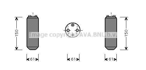 Original OPEL Klimatrockner DND255