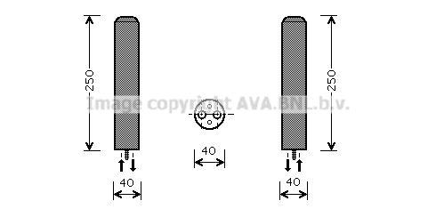 Buy original AC drier PRASCO DWD050