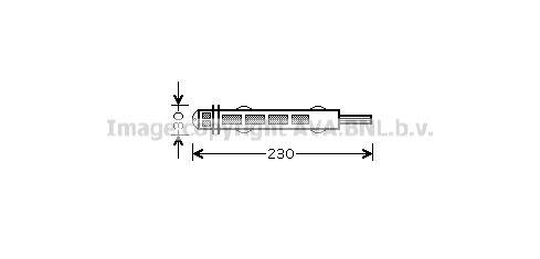 PRASCO: Original Trockner Klimaanlage FTD315 ()