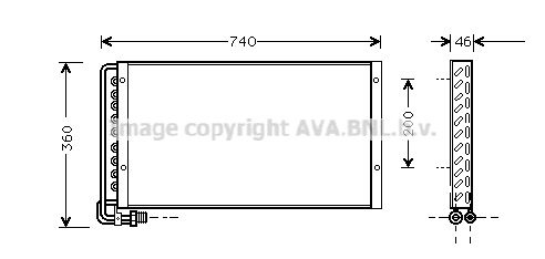 FT927R001 PRASCO Aluminium, Kunststoff Kühler, Motorkühlung IV2087 günstig kaufen