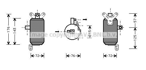 PRASCO: Original Trockner Klimaanlage JRD021 ()