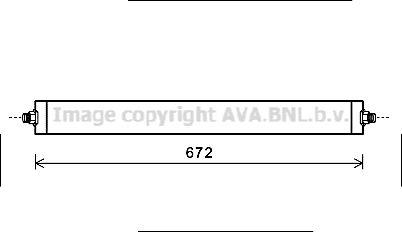Original OPEL Getriebeölkühler MS3531