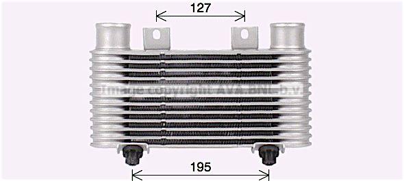 PRASCO: Original Ladeluftkühler MZ4239 ()