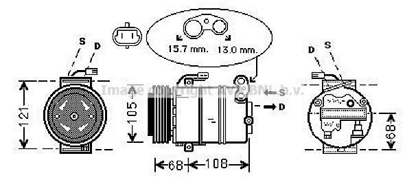 Kompressor PRASCO OLAK138