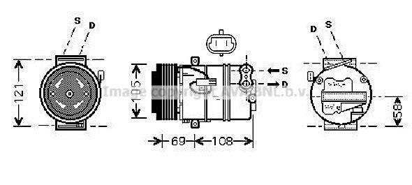Kompressor PRASCO OLAK426