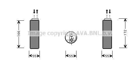 Original OPEL Trockner Klimaanlage OLD153