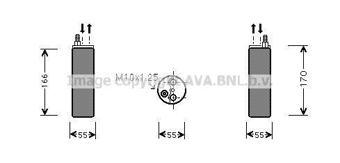 Original OPEL Trockner Klimaanlage OLD371