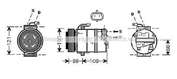 Kompressor PRASCO OLK358