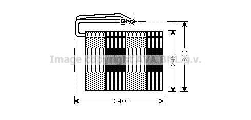 Original RENAULT Verdampfer Klimaanlage OLV399