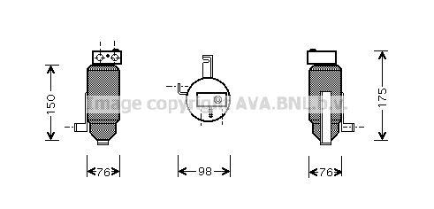 Achetez Bouteille filtrante clim PRASCO PED059 () à un rapport qualité-prix exceptionnel