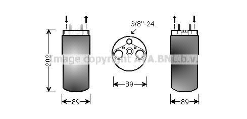 Original OPEL Klimatrockner RTD555