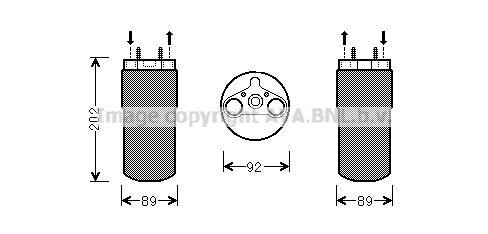 OPEL VIVARO 2017 Trockner Klimaanlage - Original PRASCO RTD556