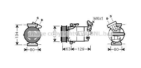 Original RENAULT Kompressor Klimaanlage RTK384