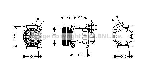 Original RENAULT Kompressor RTK401
