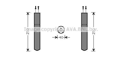 Achetez Filtre déshydrateur PRASCO TOD415 () à un rapport qualité-prix exceptionnel