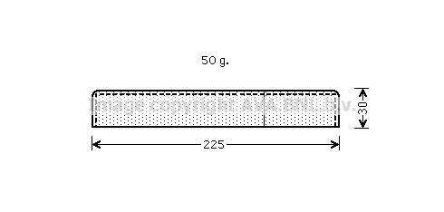 Origine Filtre déshydrateur PRASCO UVD125 ()