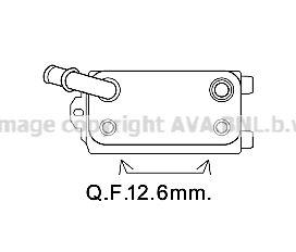 OE Original Automatikgetriebe Ölkühler VO3170 PRASCO