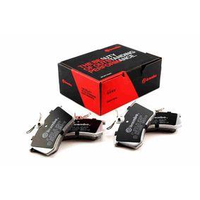 07.B315.25 BREMBO SPORT PADS HP2000 Juego zapatas freno de alto rendimiento 07.B315.25 a buen precio