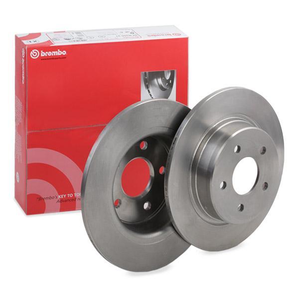 08B60110 Bremsscheiben BREMBO 08.B601.10 - Große Auswahl - stark reduziert