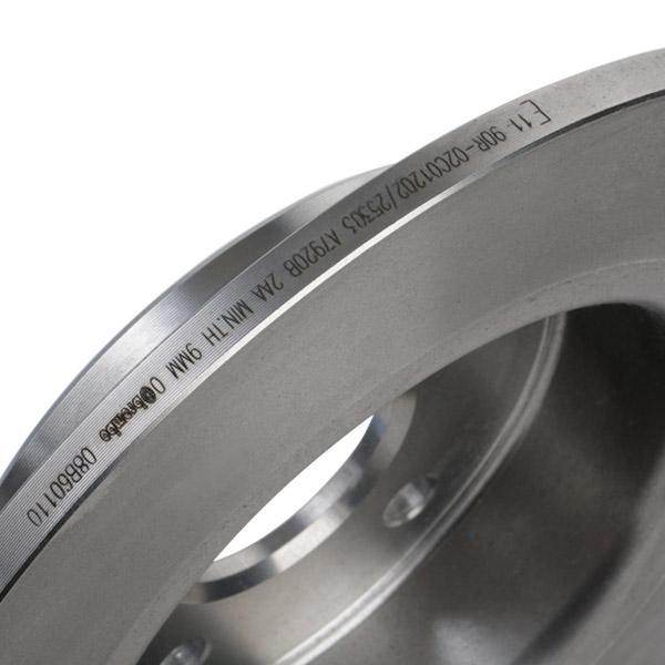 08.B601.10 Bremsscheibe BREMBO Test