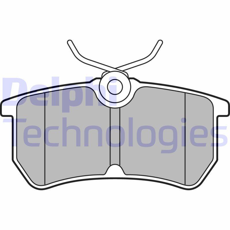 Bremsklötze DELPHI LP2480