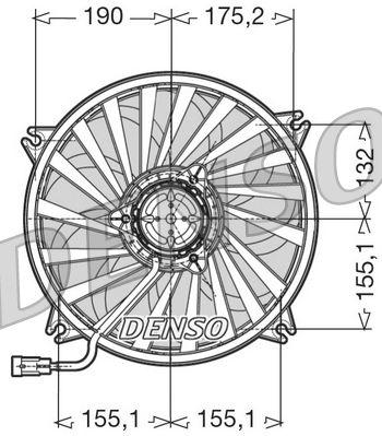 pirkite Radiatoriaus ventiliatorius DER07005 bet kokiu laiku