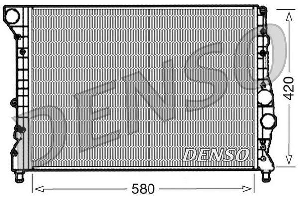 OE Original Kühler Motorkühlung DRM01001 DENSO
