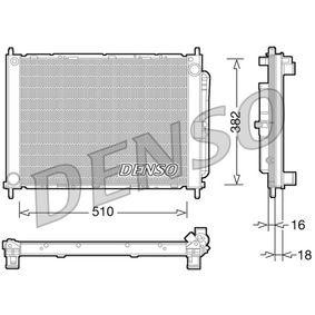 DRM23101 DENSO Gewicht: 5500g, Netzmaße: 510x382x18+16 Aluminium, Kunststoff Kühlmodul DRM23101 günstig kaufen