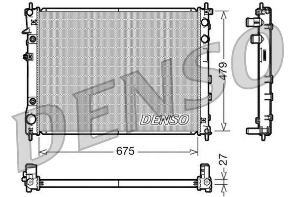 OE Original Wasserkühler DRM36012 DENSO